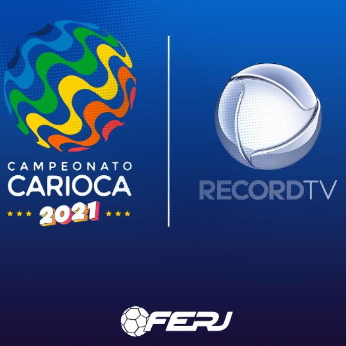 Campeonato Carioca chega à tela da Record TV neste terça (2)
