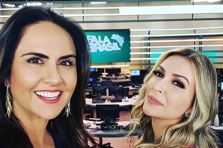 """Carla Cecato e Thalita Oliveira, as apresentadoras do """"Fala Brasil"""""""