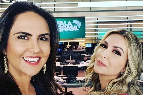 """Carla Cecato e Thalita Oliveira, apresentadotas do """"Fala Brasil - Edição de Sábado"""""""