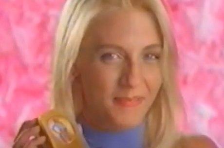 Carla Perez no comercial do tamaquinho