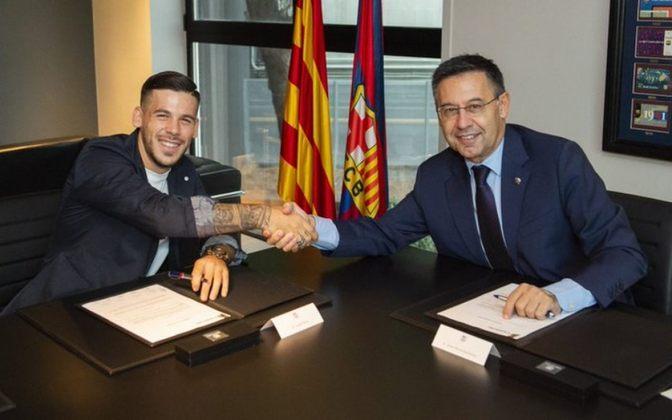 Carles Pérez - 13 jogos pelo Barcelona, dois gols e três assistências.