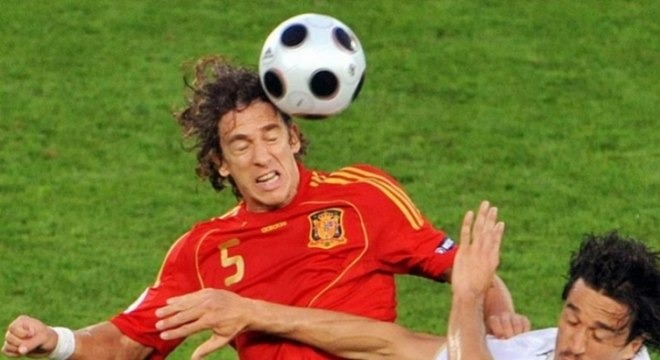 c3eb2c33f6 Carles Puyol  defendeu a seleção espanhola até a Copa do Mundo de 2010