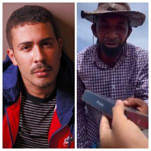 Carlinhos deu celular para morador de rua