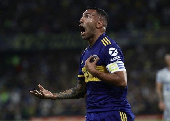 Carlitos Tévez - 37 anos - Clube atual: Boca Juniors-ARG (Grupo C)