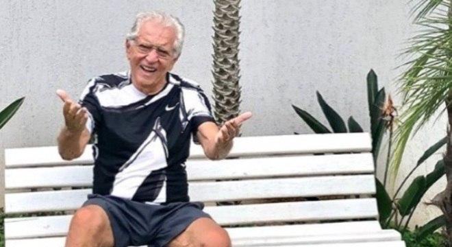 """Carlos Alberto de Nóbrega gravou especial para o """"Conversa com Bial"""" na Globo"""