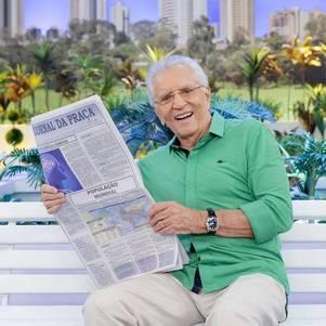 """Carlos Alberto de Nóbrega vai gravar a """"Praça"""""""