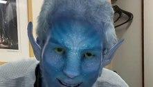Internado, Carlos Alberto de Nóbrega usa filtro de 'Avatar'