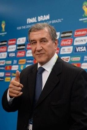Carlos Alberto Parreira - O técnico campeão do mundo de 1994 seguiu no cargo de treinador até 2010. Seu último trabalho foi como coordenador técnico da Seleção Brasileira na Copa de 2014. Depois disso, se aposentou de vez do mundo do futebol(Foto: VANDERLEI ALMEIDA / AFP)