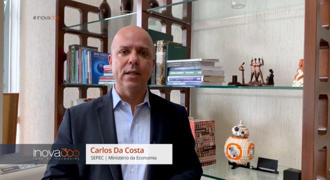 Carlos da Costa, da SEPEC, participa do Inova360 nesta quarta