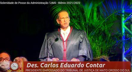 Na imagem, Carlos Eduardo Contar (TJ-MS)