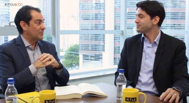 Carlos Ferrari, da NFA, e Jair Lemes, da Brava Capital