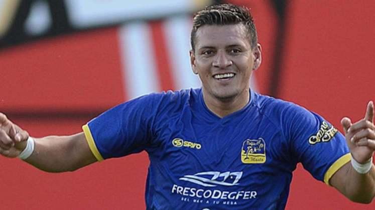 Carlos Garcés – O atacante, que deve ser titular hoje, é o artilheiro do time equatoriano na temporada.