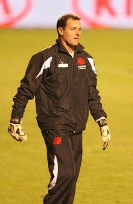 Carlos Germano - Ex-Vasco, é o segundo jogador que atuou mais vezes pelo clube de São Januário. Contabilizou 632 partidas. Germano já havia trabalhado como preparador de goleiros na Colina, entre 2008 e 2014, fazendo assim, parte da comissão técnica campeã da Copa do Brasil em 2011