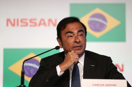 Ghosn é ex-presidente da Nissan e Renault