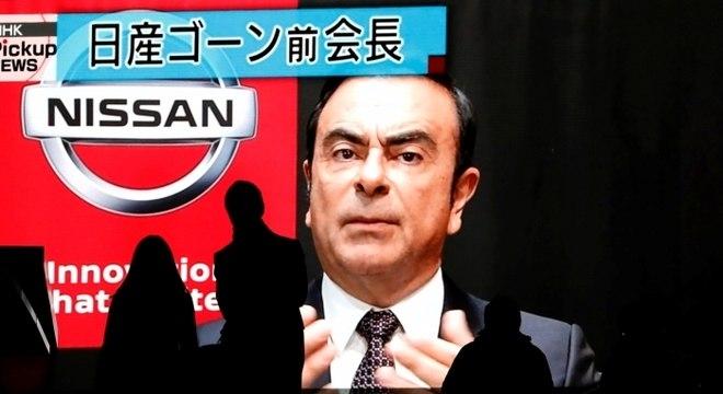 Órgão acusa Ghosn e Nissan de violarem a lei de instrumentos financeiros