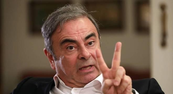 Ghosn disse ser vítima de uma 'conspiração' da Nissan