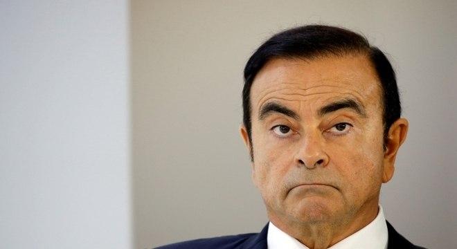 Ghosn foi preso sob acusação de fraudes financeiras