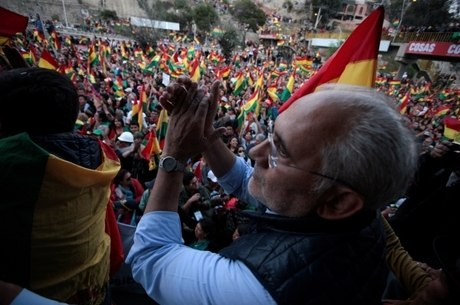 Carlos Mesa, opositor de Evo Morales na Bolívia