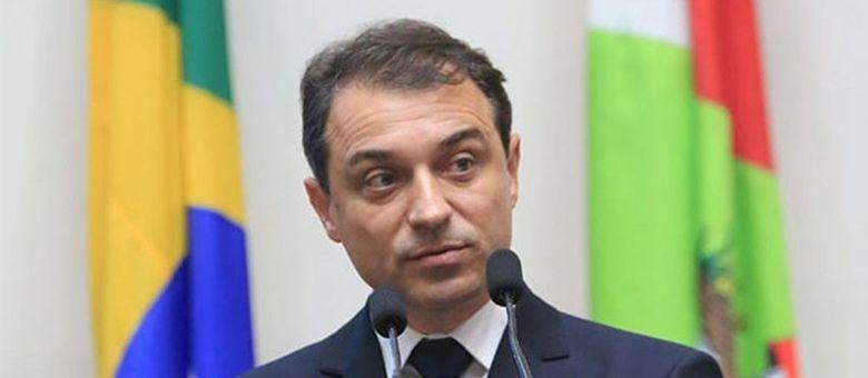O governador de Santa Catarina, Carlos Moisés