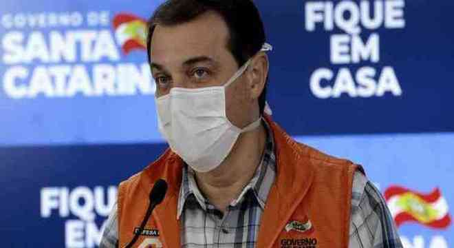 O governador Carlos Moisés  não teve como desprezar 474 mortos