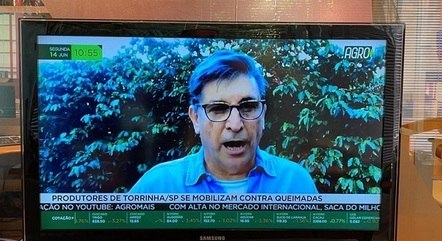 Carlos Nascimento em entrevista ao Agro Mais
