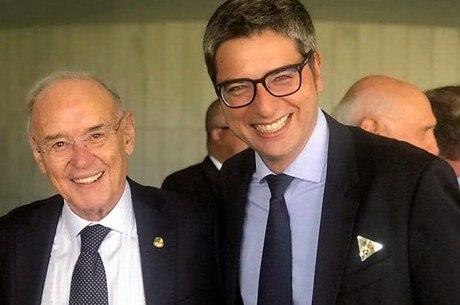 Arolde de Oliveira (à esq.) e Carlos Portinho (à dir.)