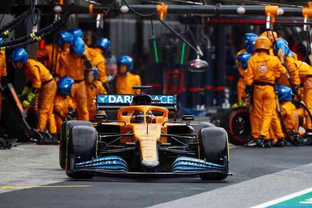 Carlos Sainz foi o sexto colocado, mas chegou a liderar o GP de Portugal nas voltas iniciais