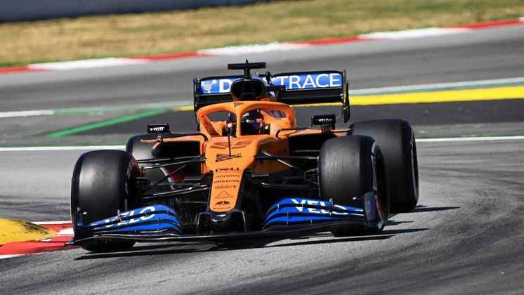 Carlos Sainz Jr. ficou com a sétima posição no grid
