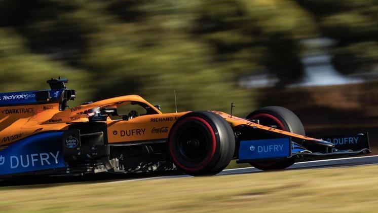 Carlos Sainz Jr. ficou com a sétima posição no grid de largada em Portimão