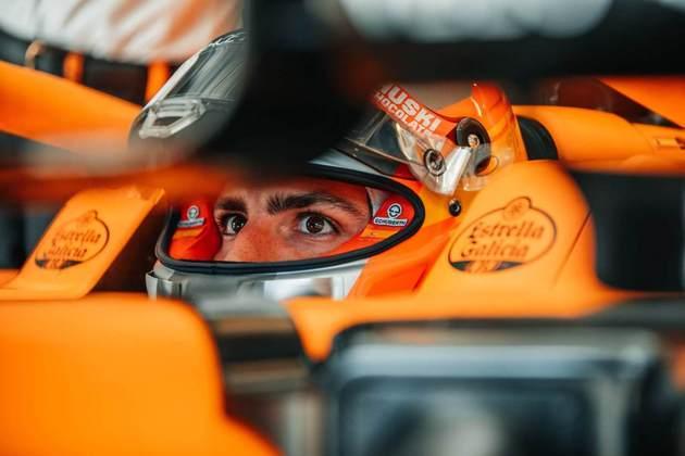 Carlos Sainz Jr. foi 0s968 mais lento que o tempo da pole