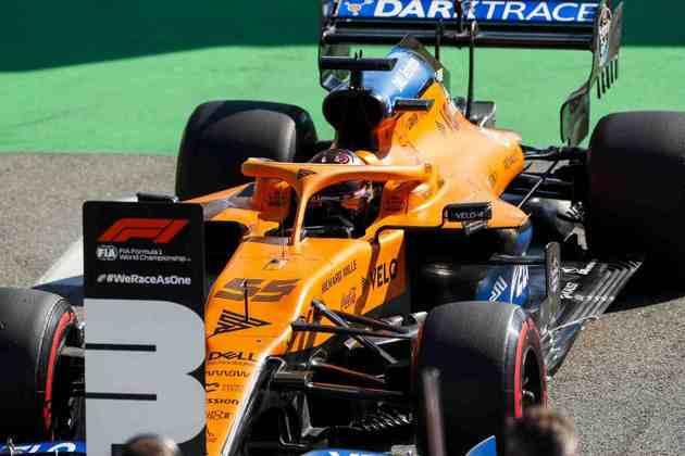 Carlos Sainz Jr., o terceiro colocado no grid em Monza