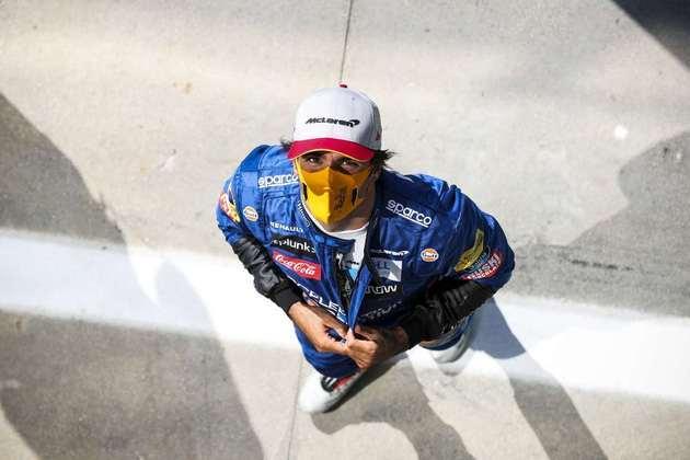 Carlos Sainz Jr. surpreendeu e larga em terceiro no GP da Itália