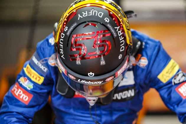 Carlos Sainz Jr. teve problemas no carro e sequer largou para o GP da Bélgica