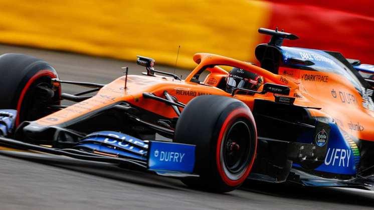 Carlos Sainz larga em sétimo na Bélgica (Foto: McLaren)