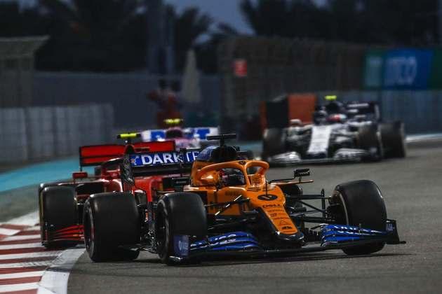 Carlos Sainz, o sexto colocado.