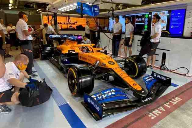Carlos Sainz parte do sexto posto em Abu Dhabi