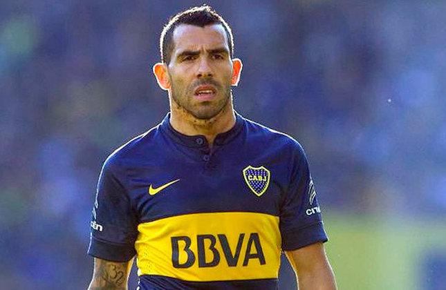 Carlos Tévez (Argentina) - 37 anos - Atacante - Valor de mercado: 1 milhão de euros - Sem time desde: 01/07/2021 - Último clube: Boca Juniors