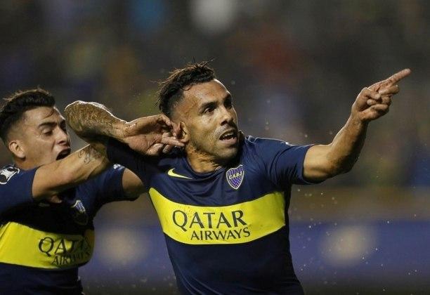 Carlos Tevez: atacante - 37 anos - argentino - Fim de contrato com o Boca Juniors - Valor de mercado: 1 milhão de euros