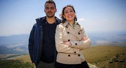 """Carmo Dalla Vecchia  e Lilia Cabral em """"Império"""""""