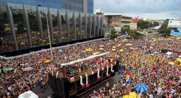 Blocos em BH levaram mais de 2 milhões de pessoas às ruas no Carnaval de 2020