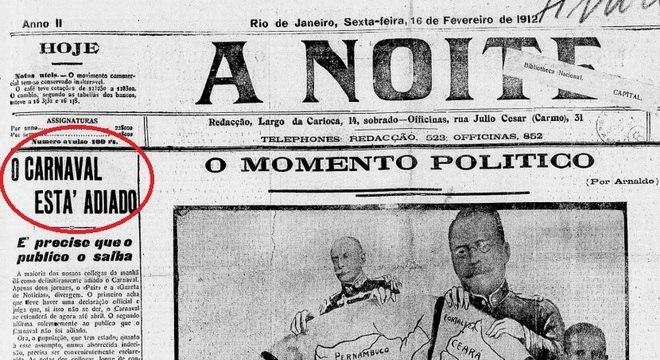 Carnaval já foi adiado duas vezes no Brasil, mas o povo não ...