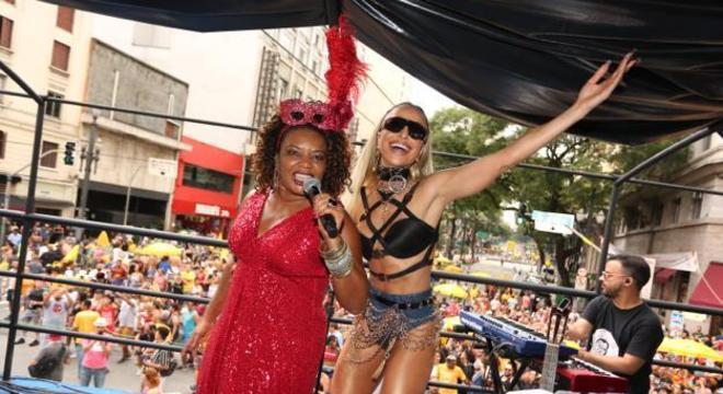 Trio comandado pela cantora Margareth Menezes animou a festa