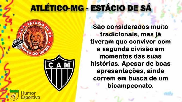 Carnaval e futebol: Atlético-MG seria a Estácio de Sá