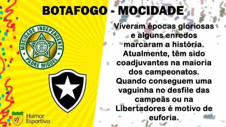 Carnaval e futebol: Botafogo seria a Mocidade Independente