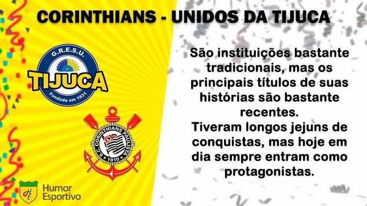 Carnaval e futebol: Corinthians seria a Unidos da Tijuca