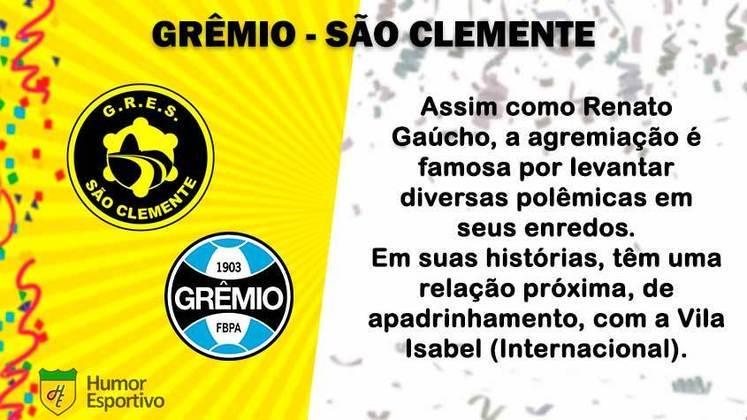Carnaval e futebol: Grêmio seria a São Clemente