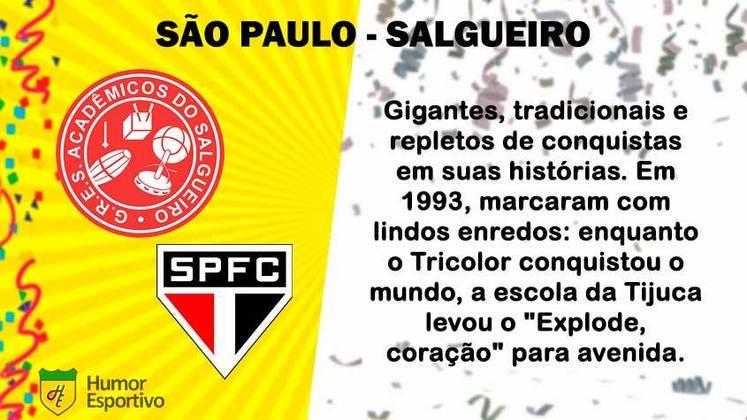 Carnaval e futebol: São Paulo seria o Salgueiro