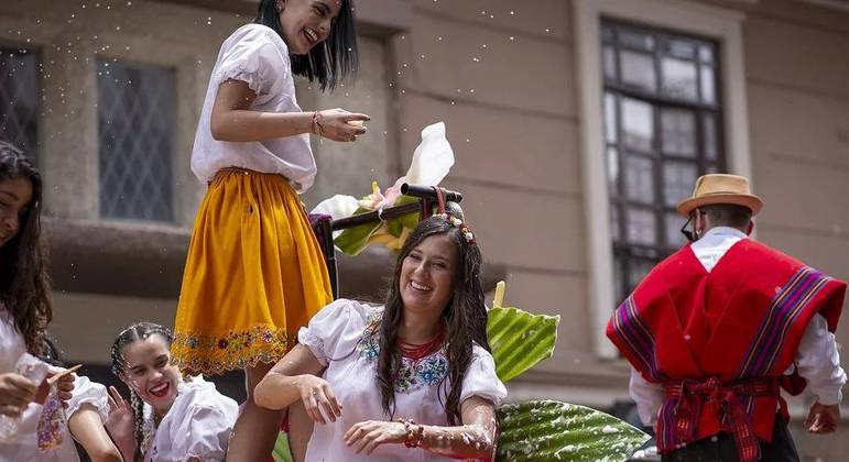 Carnaval de Belo Horizonte está entre os maiores do Brasil