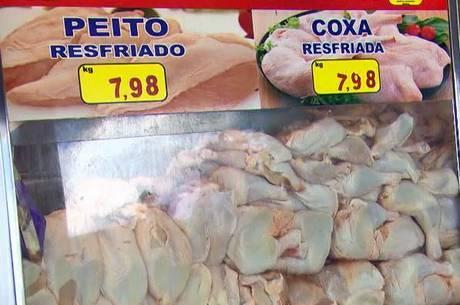 Asa de frango teve alta de 21%, chegando a R$ 17,03