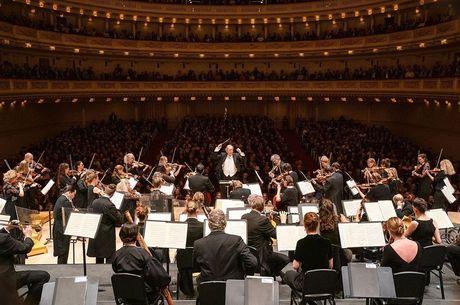 A tradicional casa de shows Carnegie Hall